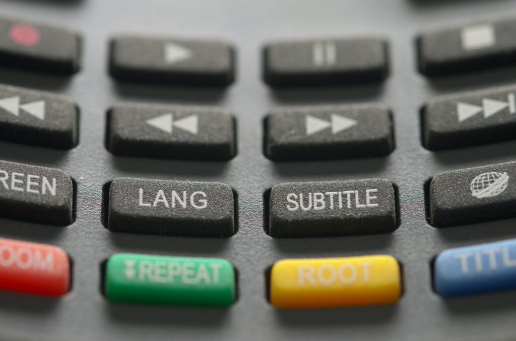 remote control buttons